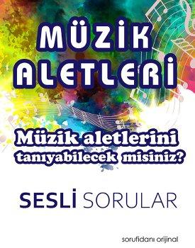 Müzik Aletleri (Sesli Sorular) kapağı