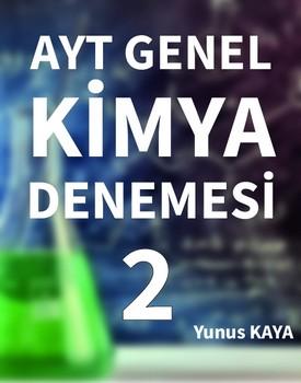 AYT GENEL KİMYA DENEMELERİ 2 kapağı