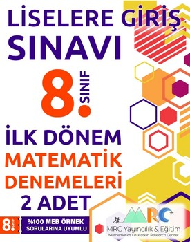LGS matematik denemeleri (Birinci dönem konuları) kapağı
