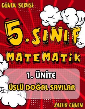 5.SINIF 1.ÜNÄ°TE ÜSLÜ DOÄžAL SAYILAR (GÜVEN SERÄ°SÄ° - 7) kapağı