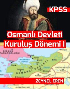 Osmanlı Devleti Kuruluş Dönemi I kapağı
