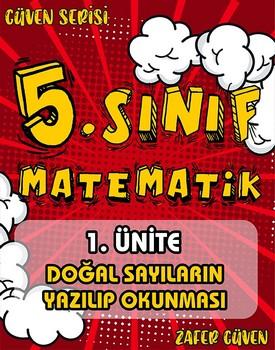 5.SINIF 1.ÜNÄ°TE DOÄžAL SAYILARIN YAZILIP OKUNMASI (GÜVEN SERÄ°SÄ° - 1) kapağı