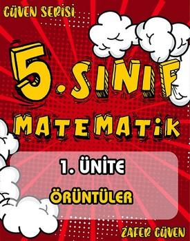 5.SINIF 1.ÜNÄ°TE ÖRÜNTÜLER (GÜVEN SERÄ°SÄ° - 2) kapağı