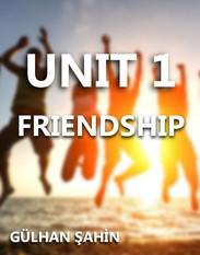8.SINIF 1.ÜNİTE FRIENDSHIP kapak resmi