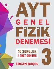 AYT GENEL FİZİK DENEMESİ 3 kapak resmi