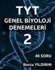 TYT GENEL BİYOLOJİ DENEMESİ-2 kapak resmi