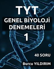 TYT GENEL BİYOLOJİ DENEMESİ-1 kapak resmi