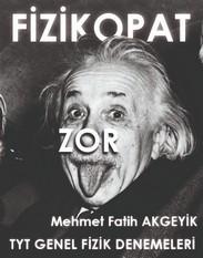 TYT Genel Fizik Denemeleri - Fizikopat(Zor) kapak resmi